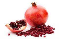 белизна pomegranate Стоковая Фотография