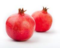 белизна pomegranate Стоковое Фото
