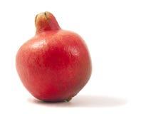 белизна pomegranate ma предпосылки свежая изолированная Стоковые Изображения