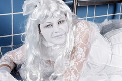 белизна princess стоковое фото rf
