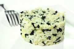 белизна seaweed риса Стоковое фото RF
