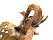 белизна shui золота feng слона предпосылки Стоковые Изображения