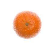 белизна tangerine предмета предпосылки Стоковое Изображение RF