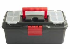 белизна toolbox предпосылки черная Стоковые Фото