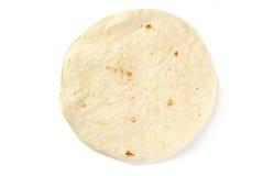 белизна tortilla раковины одиночная Стоковые Изображения RF