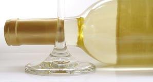 белое вино Иллюстрация штока
