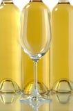белое вино Стоковое Изображение