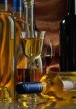 белое вино Стоковая Фотография
