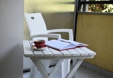Белое внешнее offise стоковая фотография rf