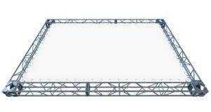 Белое знамя иллюстрация вектора