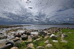 Белое море Стоковое Изображение