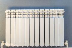 Белое топление радиатора стоковые фото