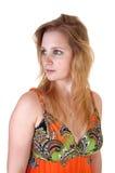 белокурая девушка предназначенная для подростков Стоковое Изображение RF
