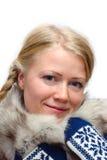 белокурая девушка Стоковая Фотография
