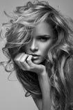 белокурая женщина портрета Стоковое Фото