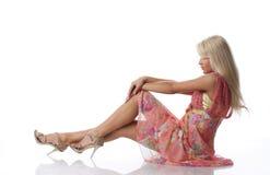 Белокурая женщина стоковые изображения rf