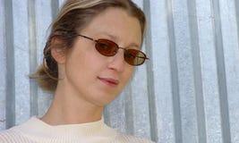 белокурая женщина Стоковое Фото