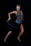 белокурая латынь танцора Стоковые Изображения