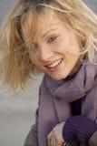 белокурая сь женщина Стоковая Фотография