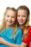 белокурые девушки 2 детеныша Стоковая Фотография RF