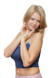 белокурые детеныши женщины Стоковая Фотография RF