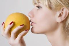 белокурый грейпфрут Стоковое Фото