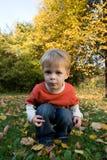 белокурый малыш Стоковая Фотография