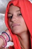 белокурый милый грек девушки Стоковое Изображение
