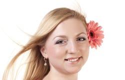 белокурый пинк цветка Стоковая Фотография