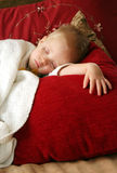 белокурый спать мальчика Стоковое Изображение RF