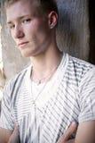 белокурый холодный мужчина Стоковое Изображение RF