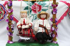 Белорусские куклы Стоковые Фотографии RF