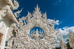 Белые буддийские виски Стоковая Фотография RF