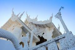 Белые висок или церковь сверстница Стоковое Изображение