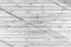 Белые деревянные планки Стоковое Изображение RF