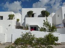 Белые Дома Gran Canaria Стоковое Фото