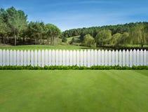 Белые загородки Стоковое Изображение RF