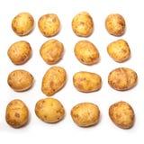 Белые картошки выпечки Стоковое Изображение RF