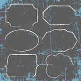 Белые рамки grunge Стоковые Изображения RF
