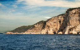 Белые скалы Стоковые Фото