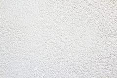 Белые стена, предпосылка гравия/картина и текстура Стоковая Фотография RF