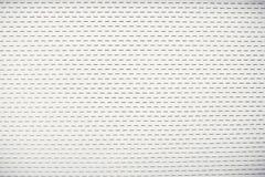 Белые строб или дверь ролика материала металлического листа цвета стоковое фото rf