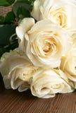 белые чувствительные и красивые нежные розы, мягкий фокус Женщины \ 'праздник s 8-ое марта Торжество подарок стоковые фото