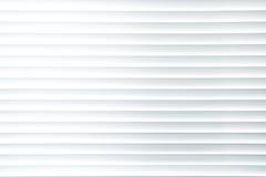 Белые bamboo шторки Стоковое Фото