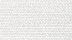 Белый булыжник лежал вниз как предпосылка текстурированная кирпичами стоковое изображение rf