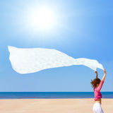 белый ветер Стоковые Фото