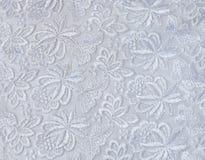 Белый гипюр - текстура стоковые фото