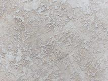 Белый декоративный гипсолит текстура Предпосылка Grunge Стоковые Фотографии RF