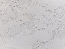 Белый декоративный гипсолит текстура Предпосылка Grunge Стоковое Изображение RF