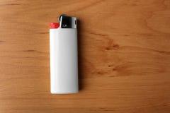 белый лихтер газа Стоковое Фото